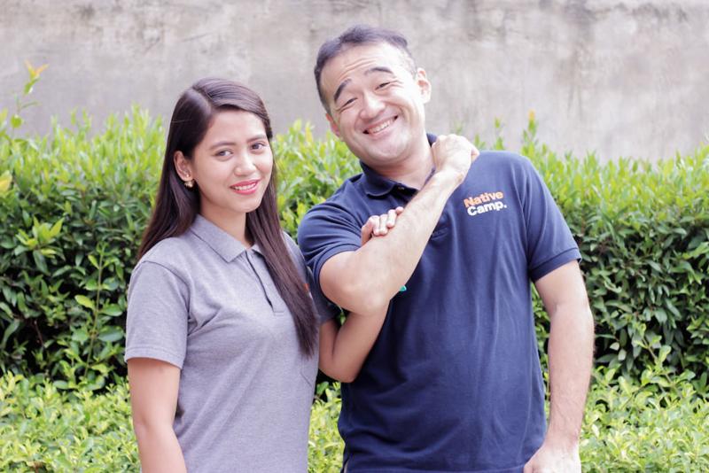 フィリピン人の奥さんと、日本人の夫