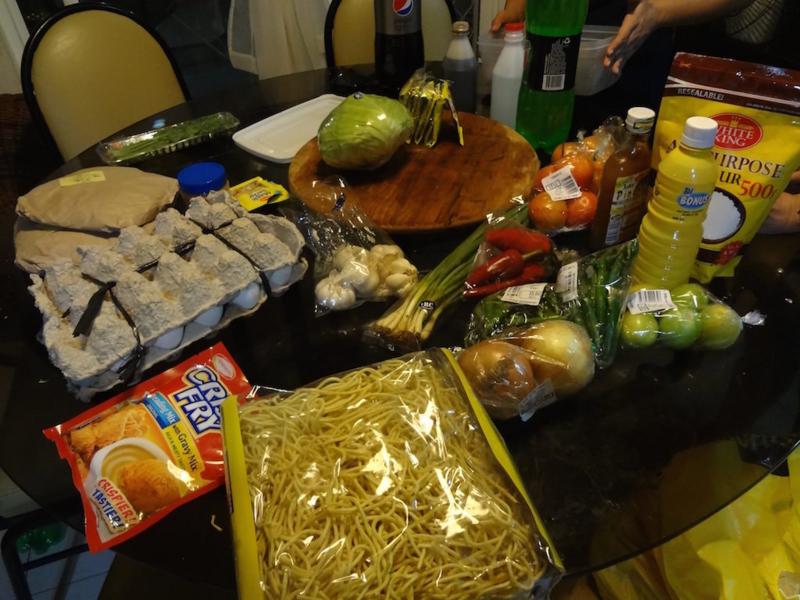 フィリピンの食材