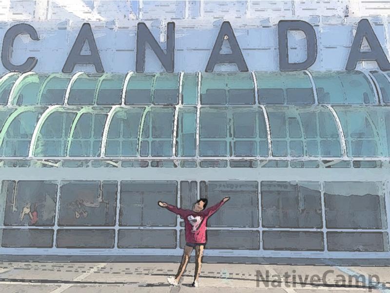 カナダの思い出写真