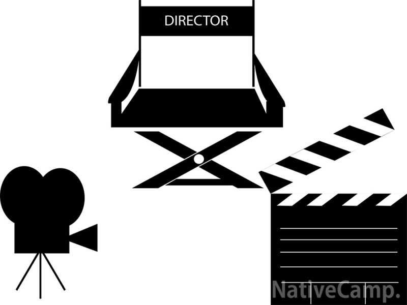 モノクロ写真映画館