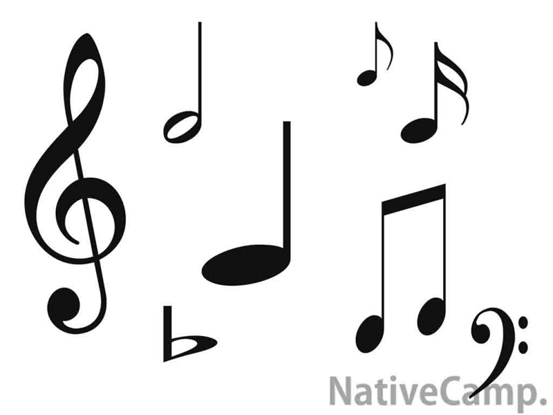 音符と楽譜