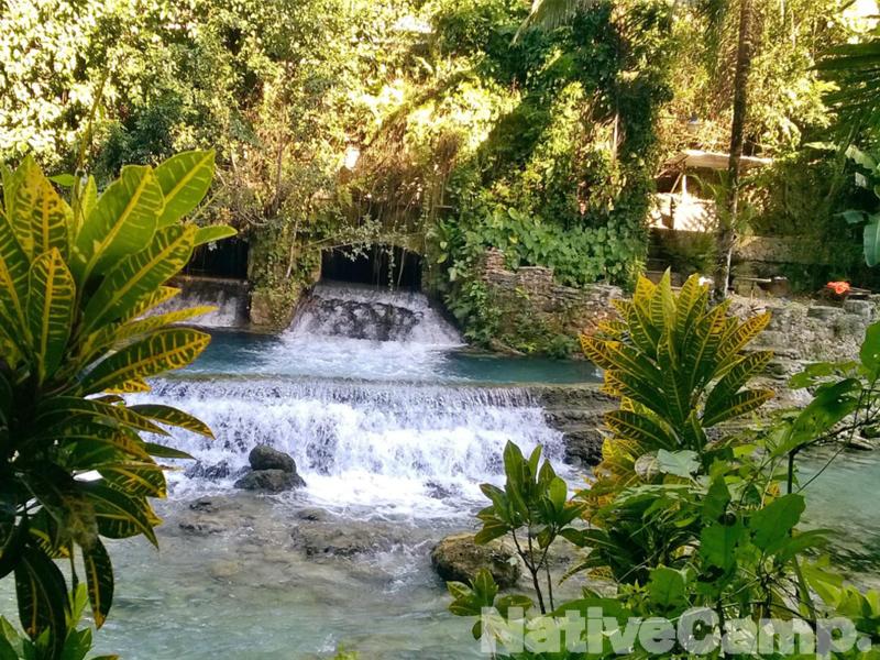セブ島にあるカワサン滝