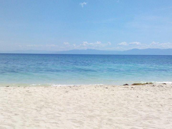 透明度の高いビーチ