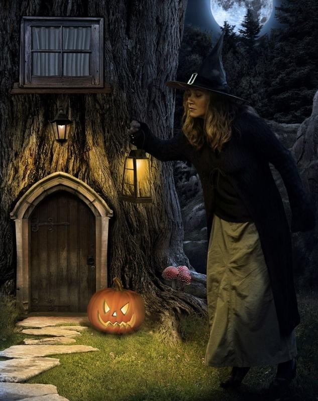 ハロウィン Halloween 魔女