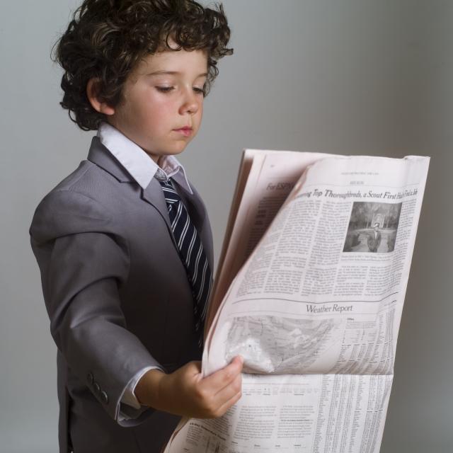 子供 英字新聞