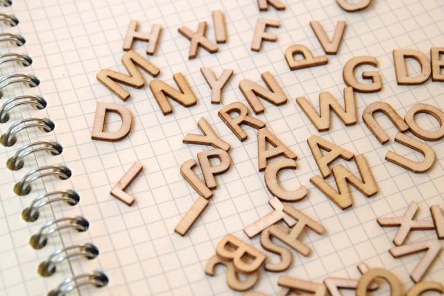 アルファベット ピース