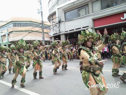 シヌログ祭り 踊り