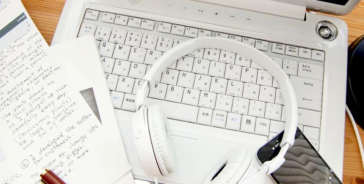 オンライン英会話、学習、パソコン、英会話
