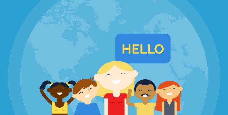 英語、英語学習、言語、多国籍、外国人