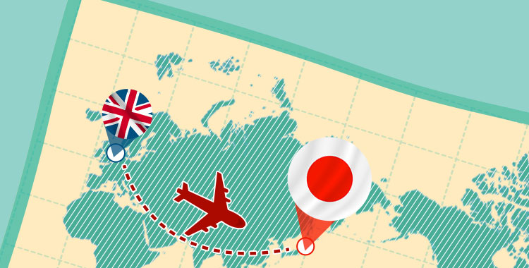 日英、旅行、世界地図、英語学習
