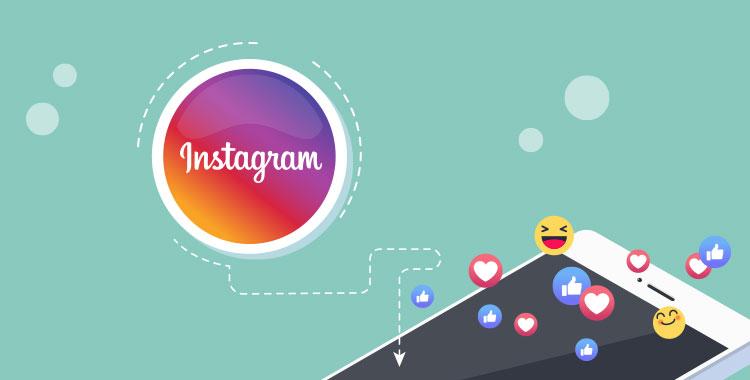 SNS、インスタ、Instagram、英語、イラスト