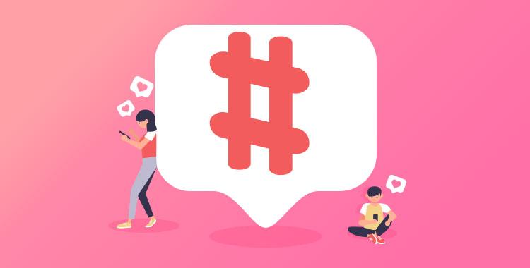 ハッシュタグ、#、Instagram、インスタ、コメント