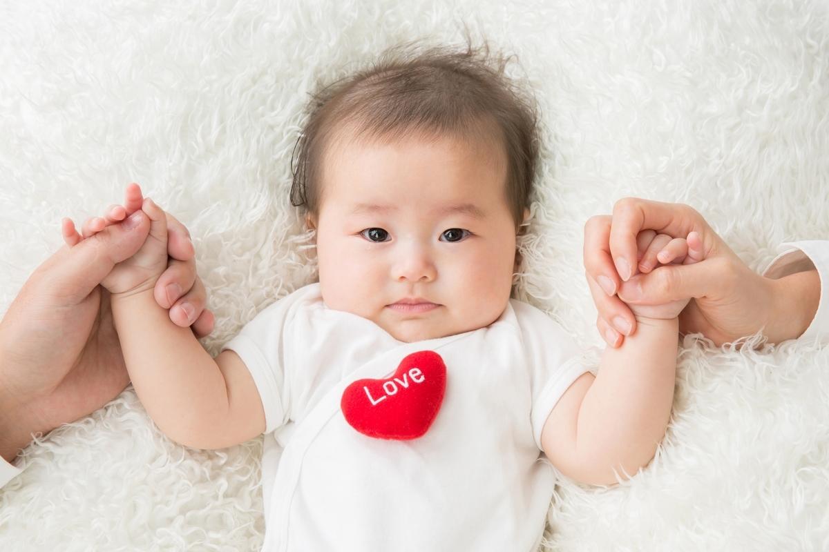 赤ちゃん、可愛い、画像、ハート、アイデンティティ