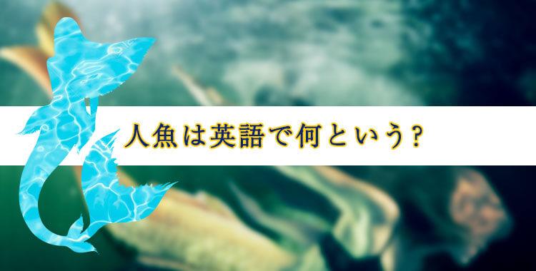 人魚は英語でなんという?、様々な国の人魚、ネイティブキャンプ