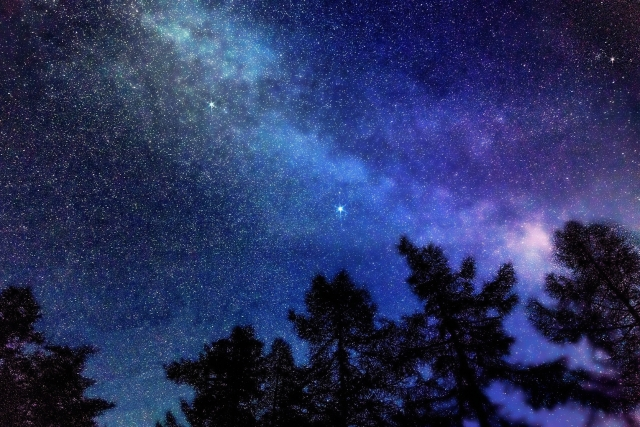 夜空、星、星座、天体観測