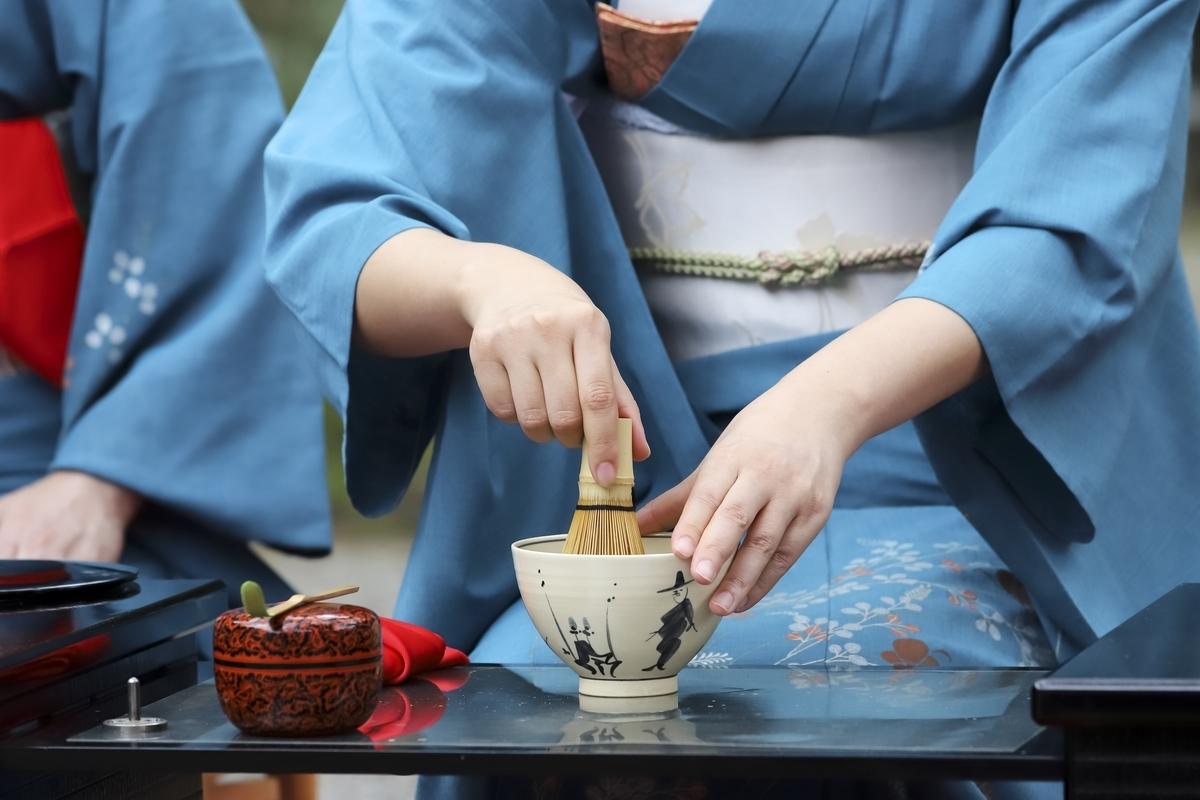 茶道、点茶、一期一会、お茶