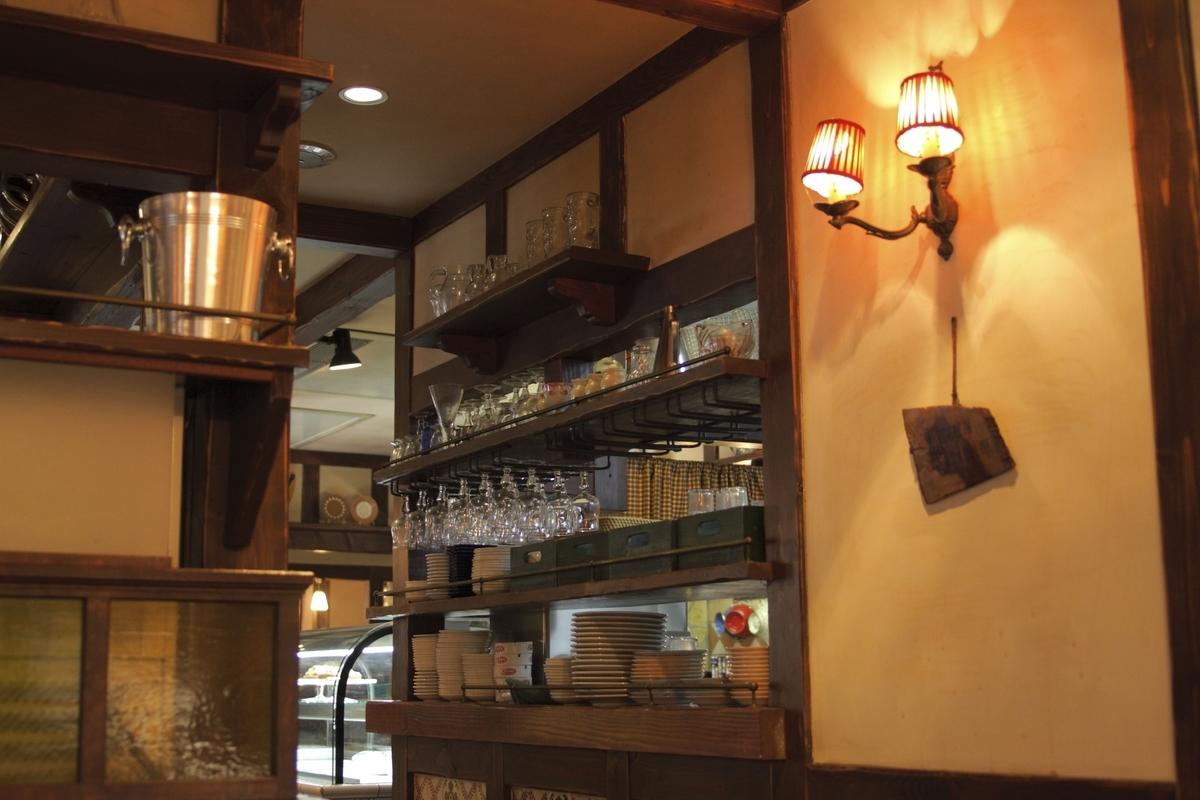 洋食屋、内装、オムライス、ご飯、ランチ