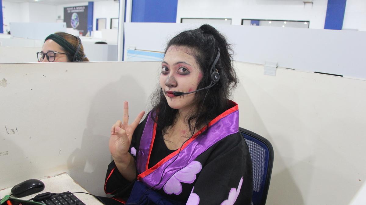 ハロウィンパーティー、ハロウィン仮装、ネイティブキャンプハロウィン