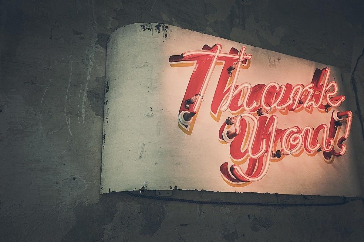 「ありがとう」を表現する英語のバリエーション