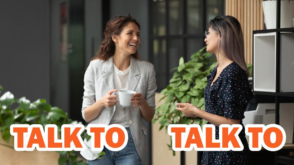 「talk to」と「talk with」の違いとは?前置詞の意味を比較しよう