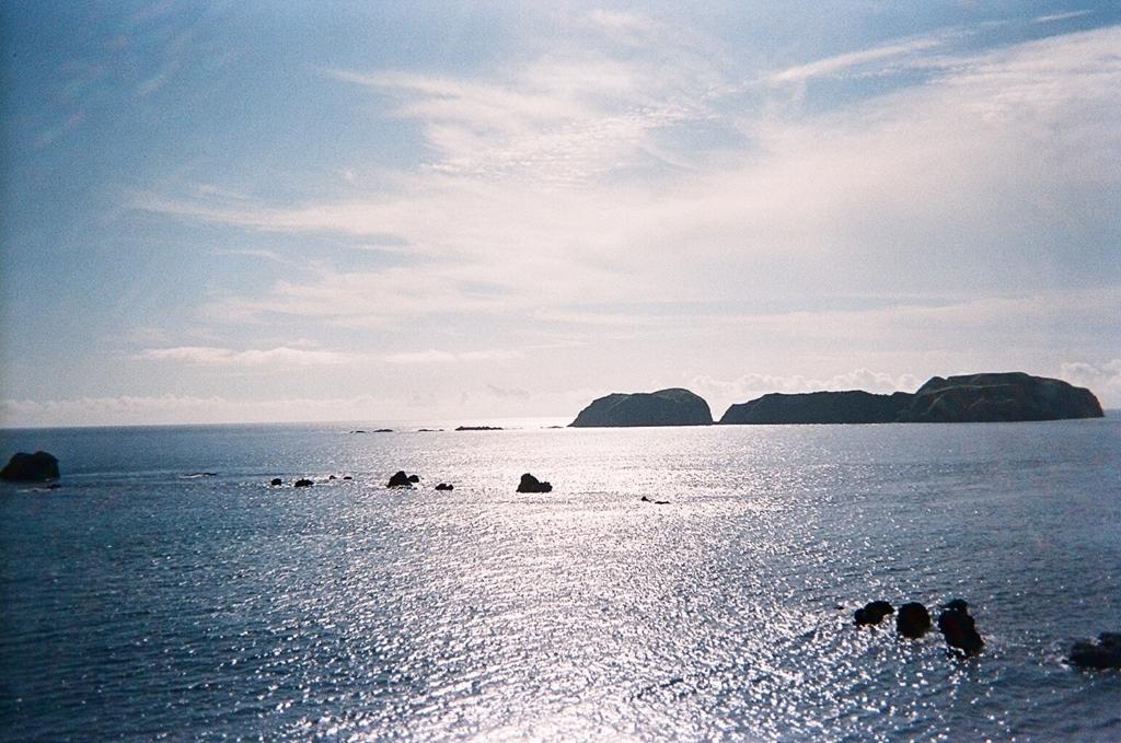 新島からの景色