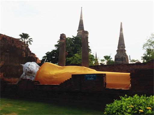 世界遺産ワット・ヤイチャイ・モンコン