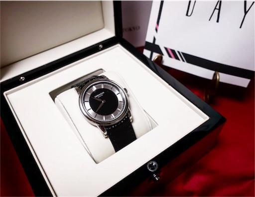 誕生日プレゼントは腕時計