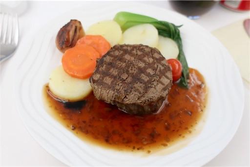 Main dish Beef fillet stake