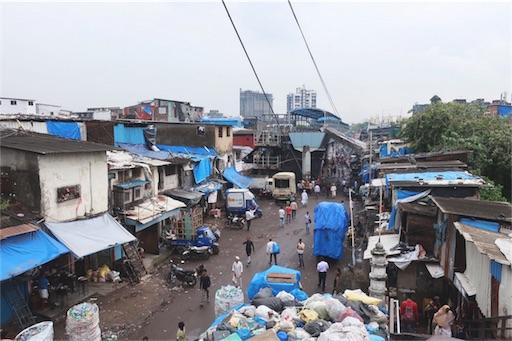 ムンバイにあるダラヴィという地区