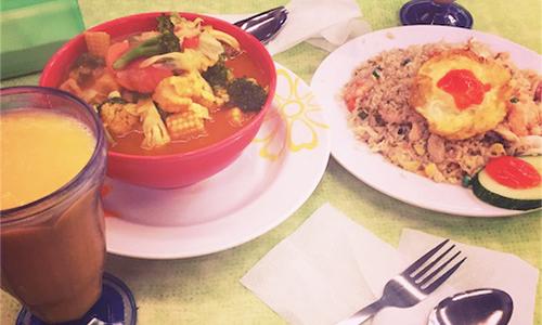 マレーシアのローカルご飯