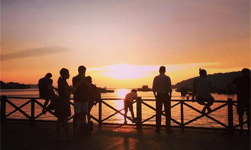 世界3大夕日の一つがこのマレーシアの夕日