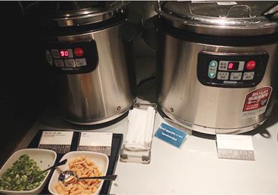 味噌汁、クラムチャウダー