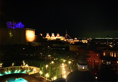 ミラコスタ・ヴェネツィアサイドからの眺め