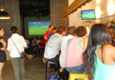 Travelers who watch the World Cup