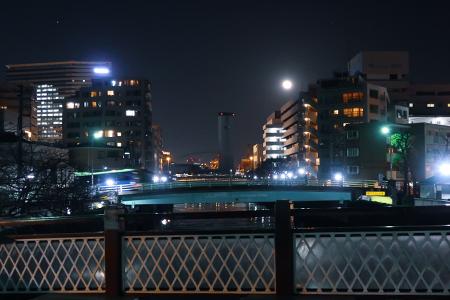 品川宿を歩きながら帰る