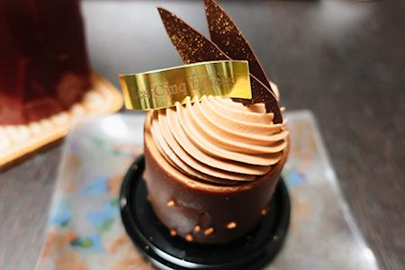 ここのケーキにはパティシエの愛を感じる。