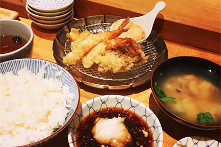 金子半之助天ぷら飯