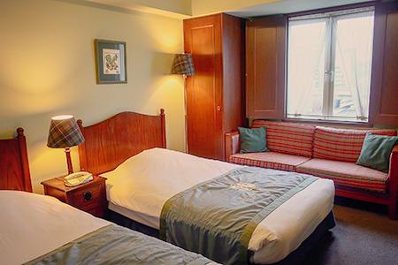 カントリータイプの部屋、内装
