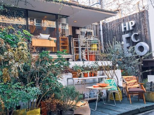 表参道にある一軒家の雑貨屋『H.P.DECO』