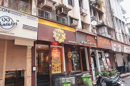 Various shops in Mumbai