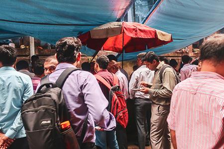Street stall