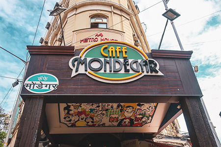 Mumbai『CAFE MONDEGER』