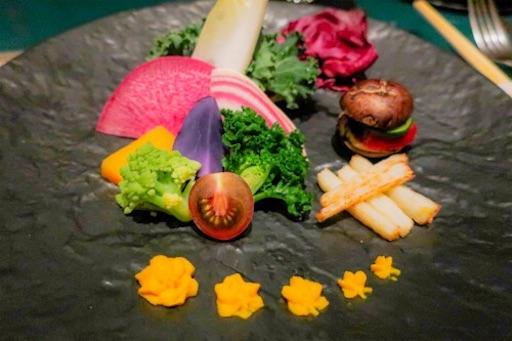 前菜のお野菜