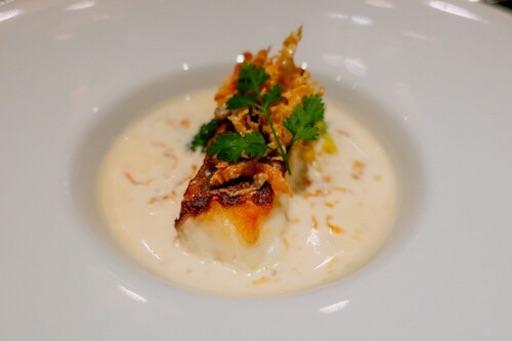 鯛のクリームスープ