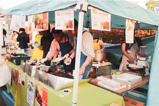 東京蚤の市:北欧食べ物