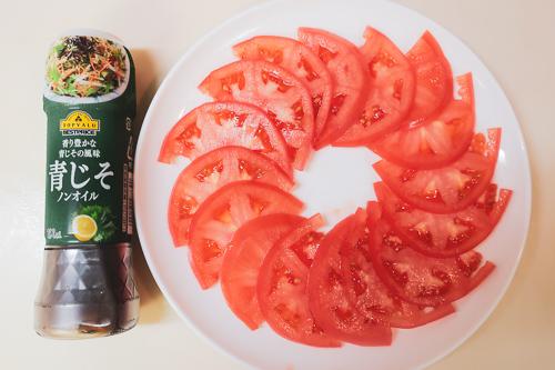 無限トマトの作り方 3、盛る