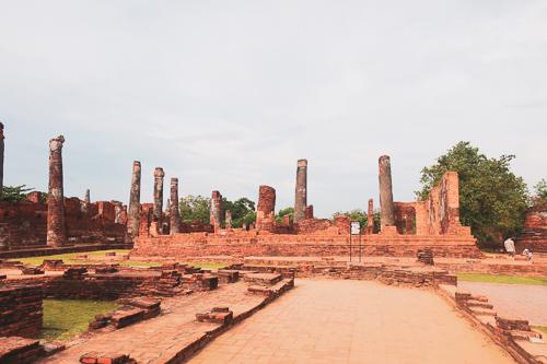 ワットプラシーサンペット:本堂の跡