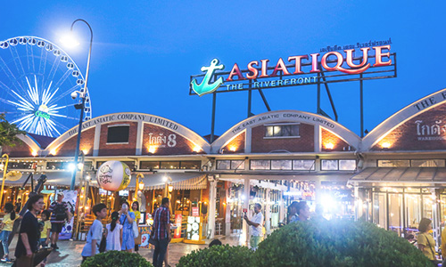 recommended sightseeing spot② Speaking of  hot night play spots is ASIATIQUE