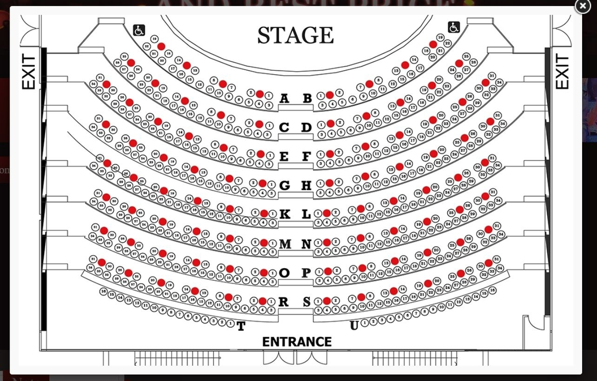 CalypsoCabaretSeatingchart