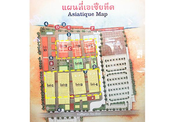 アジアティークお土産屋:場所、マップ